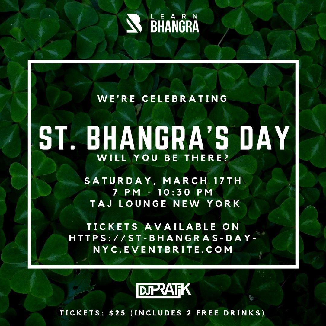 St. Bhangra's Day