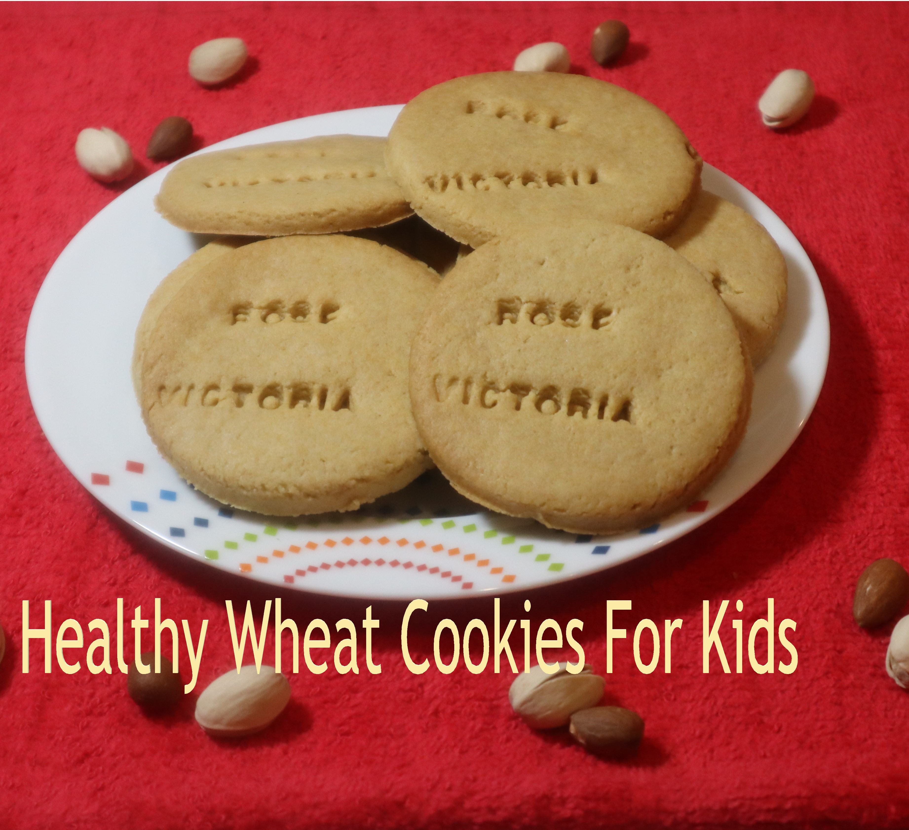 Whole wheat cookies for kids